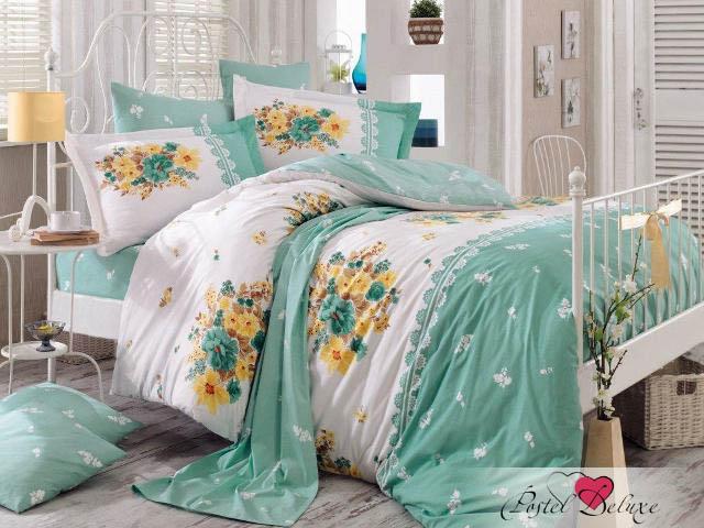 Hobby Collection КПБ Alvis Цвет: Зеленый (2 сп. евро)