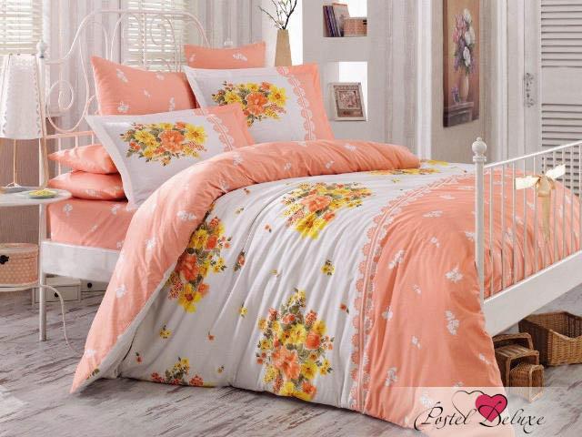 Hobby Collection КПБ Alvis Цвет: Персиковый (2 сп. евро)