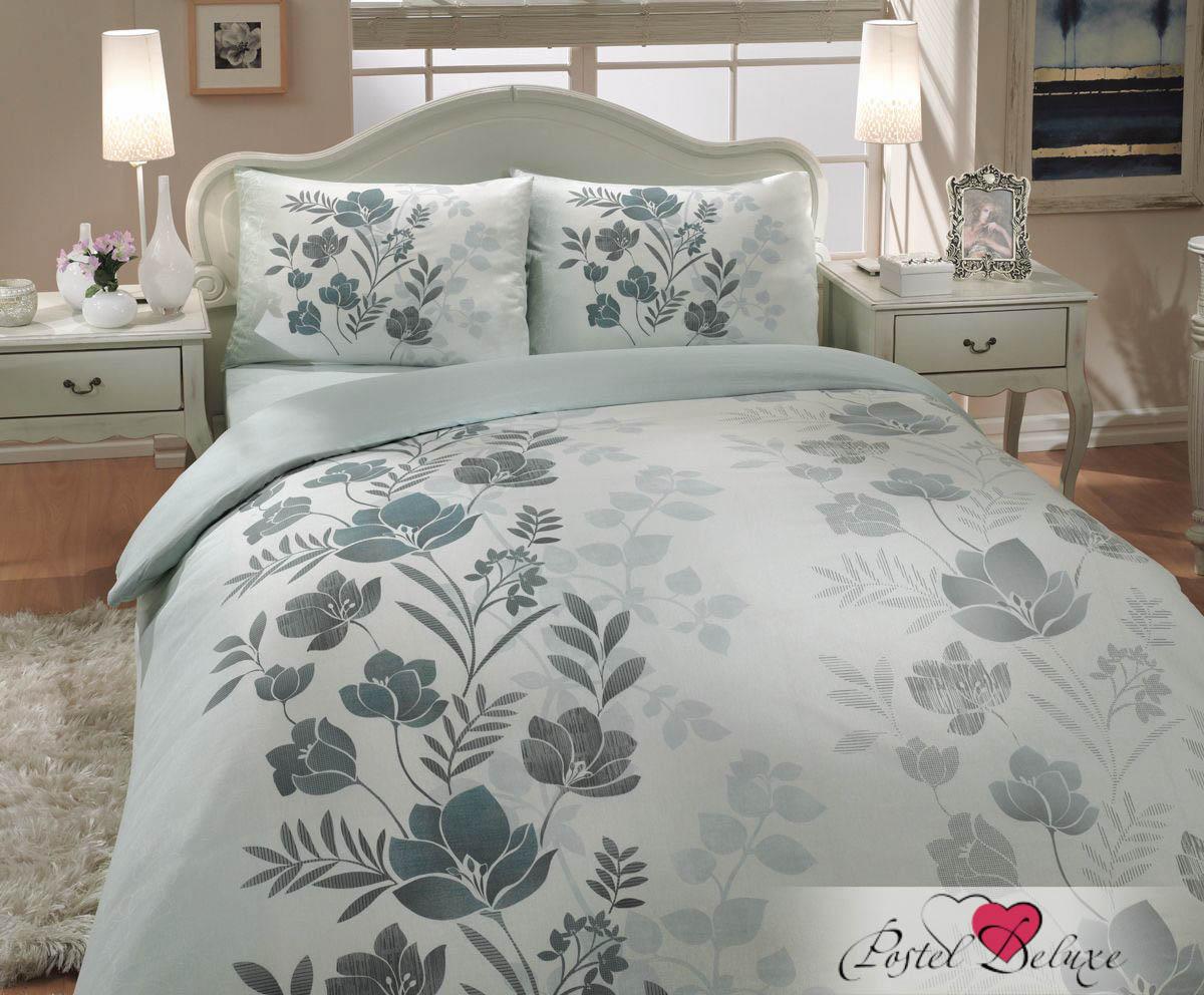 Hobby Collection КПБ Flore Цвет: Зеленый (1,5 спал.)