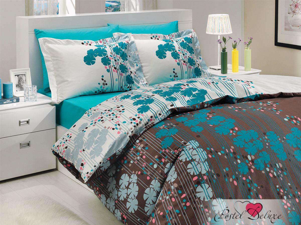 где купить Постельное белье HOBBY HOME COLLECTION Постельное белье Ventura Цвет: Бирюзовый (1,5 спал.) по лучшей цене