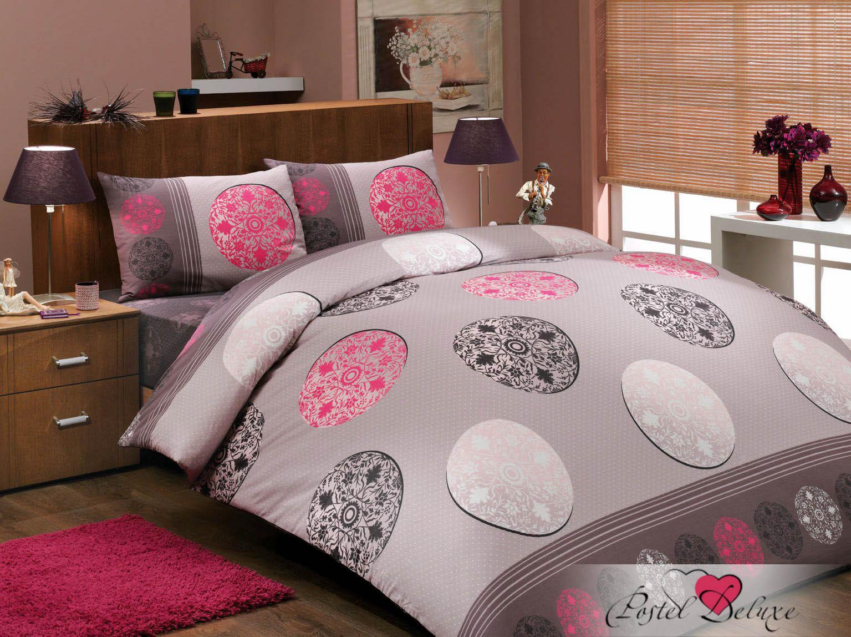 где купить Постельное белье HOBBY HOME COLLECTION Постельное белье Valentina Цвет: Розовый (1,5 спал.) по лучшей цене