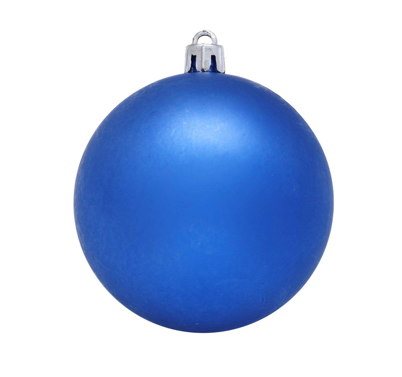 {}  Елочный шар Dawson Цвет: Синий (15 см)