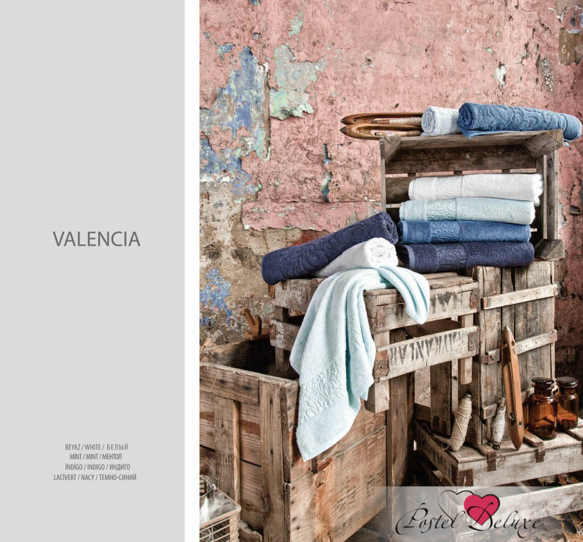 где купить  Полотенца Issimo Полотенце Valencia Цвет: Темно-Синий (50х90 см - 3 шт)  по лучшей цене