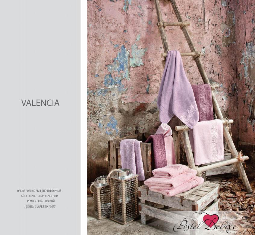 где купить  Полотенца Issimo Полотенце Valencia Цвет: Розовый (50х90 см - 3 шт)  по лучшей цене