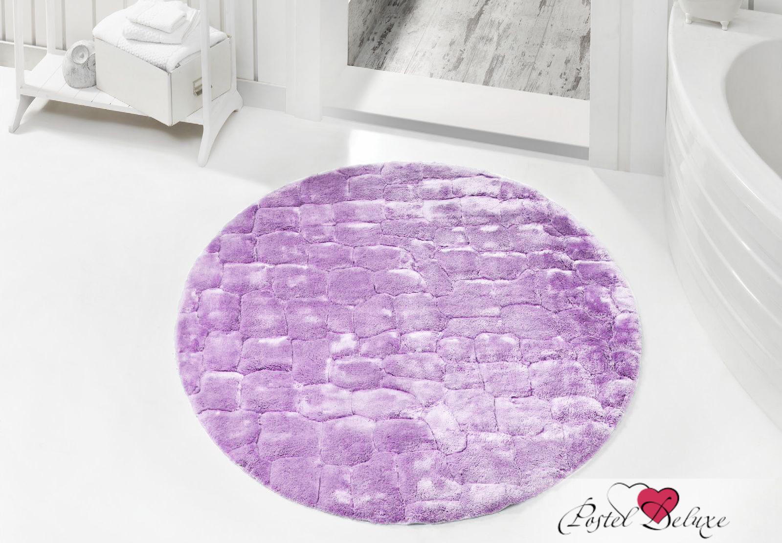 Issimo Коврик для ванной Rocky Цвет: Лиловый (круглый 120 см)