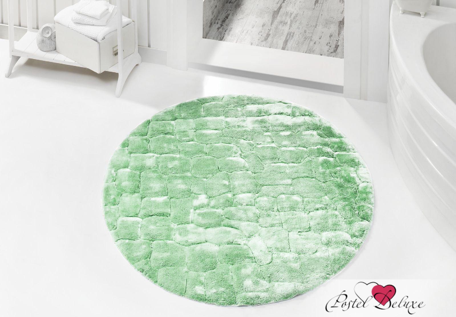 Issimo Коврик для ванной Rocky Цвет: Зеленый (круглый 120 см)