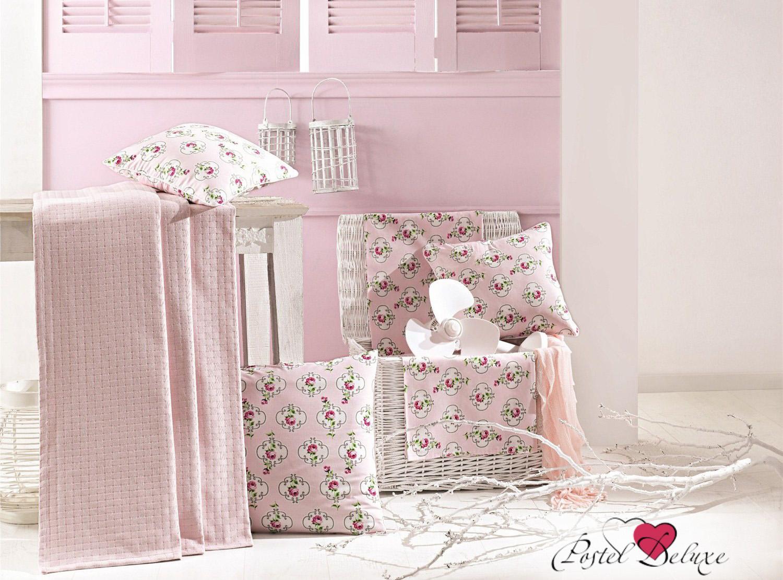 Покрывало Issimo Покрывало Liona Цвет: Розовый (220х240 см) покрывало issimo prette с наволочками 180х240 см