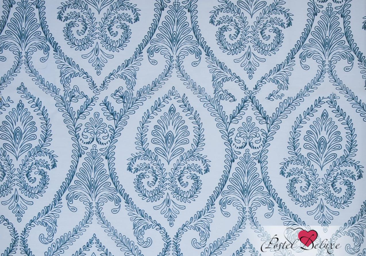 Римские и рулонные шторы Эскар Римские шторы Дамаск Цвет: Кюрасао Блю