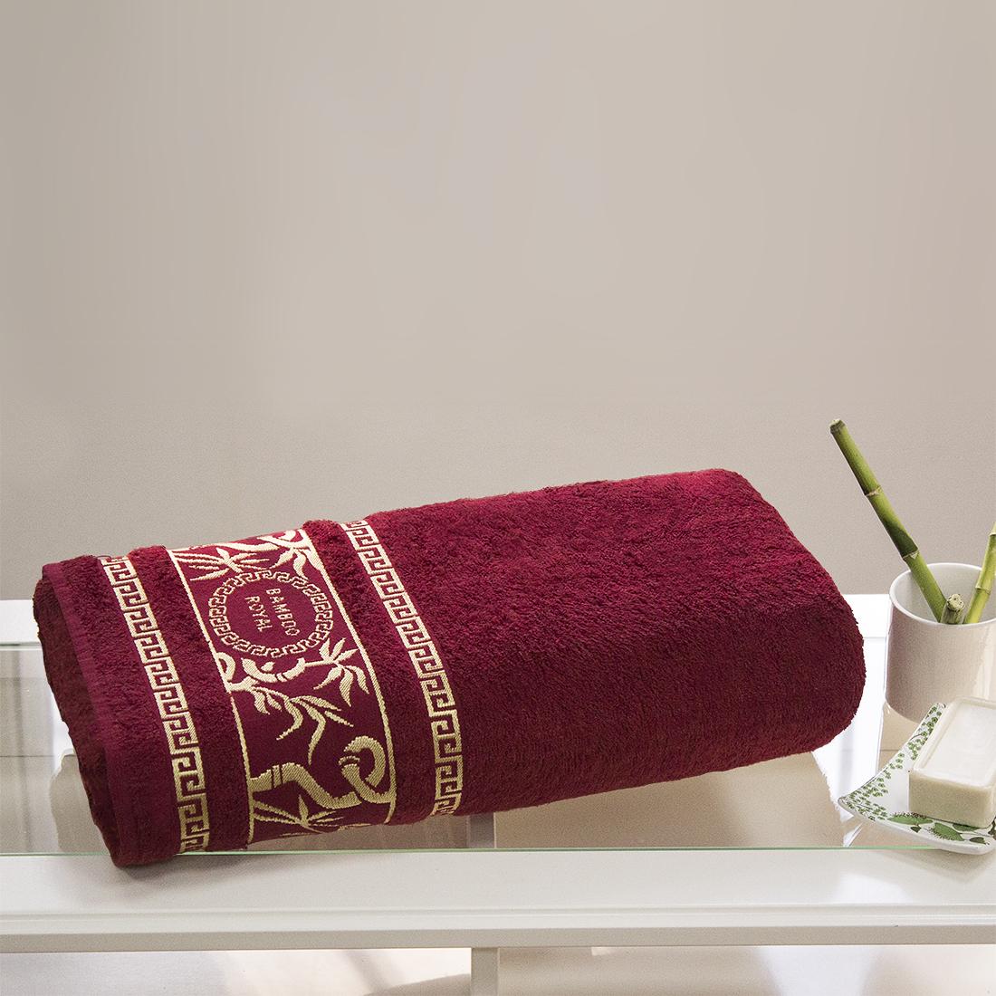 Полотенца Juanna Полотенце Роял Цвет: Красный (70х140см) полотенце мах familon evidence велюровое 70х140см серое