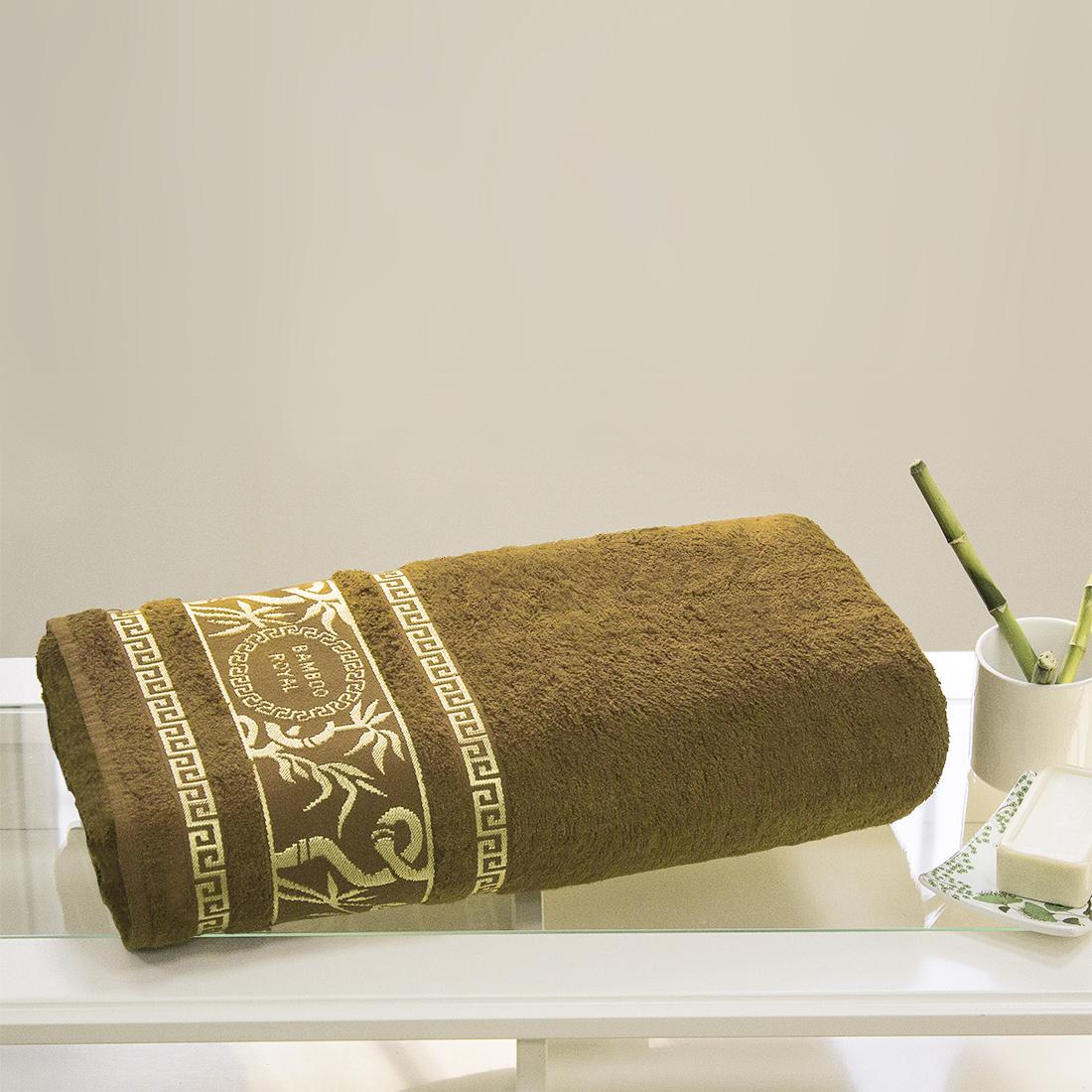 Полотенца Juanna Полотенце Роял Цвет: Коричневый (70х140см) полотенце мах familon evidence велюровое 70х140см серое