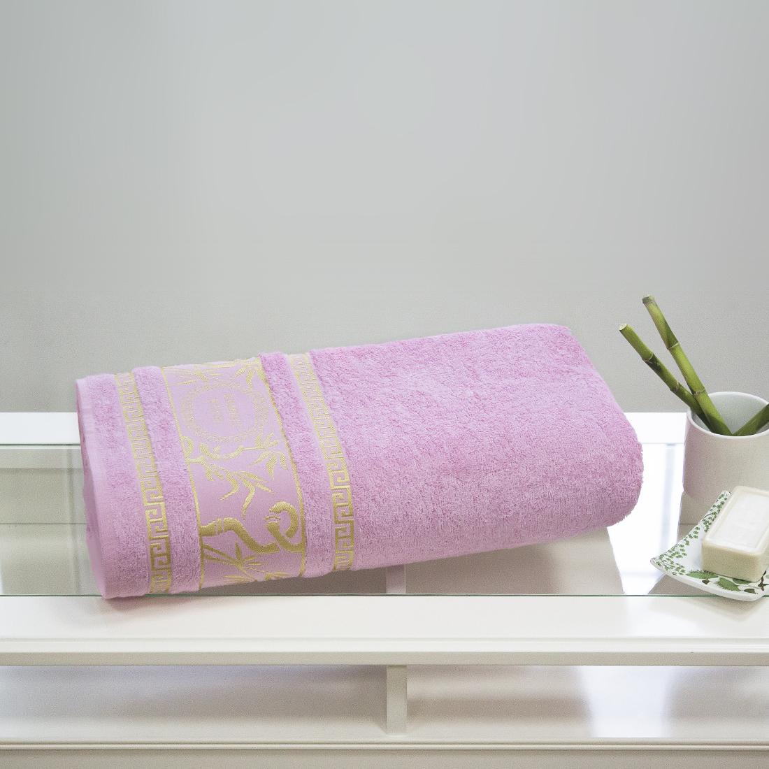 Полотенца Juanna Полотенце Роял Цвет: Розовый (70х140см) полотенце мах familon evidence велюровое 70х140см серое