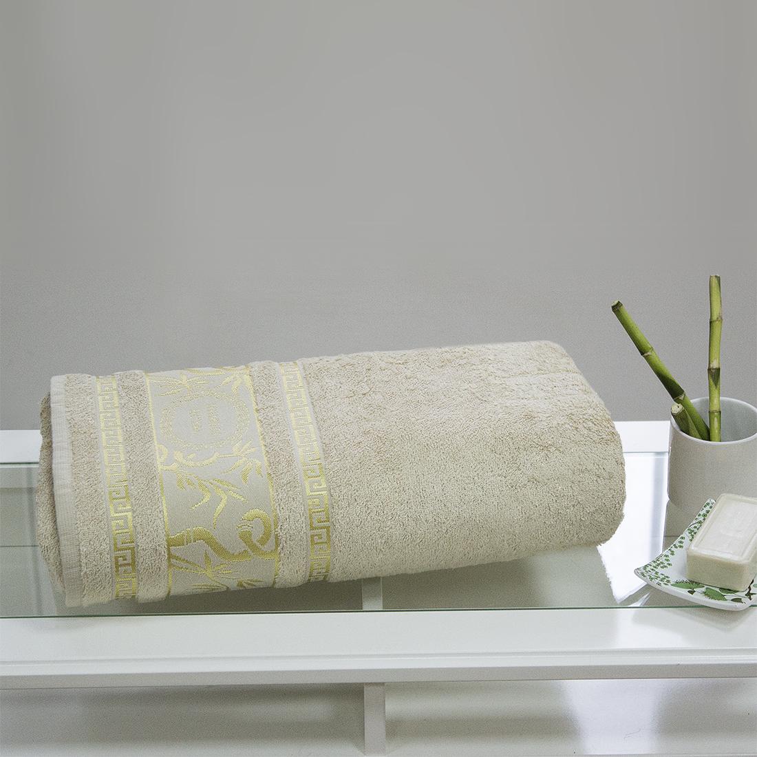 Полотенца Juanna Полотенце Роял Цвет: Кремовый (70х140см) полотенце мах familon evidence велюровое 70х140см серое
