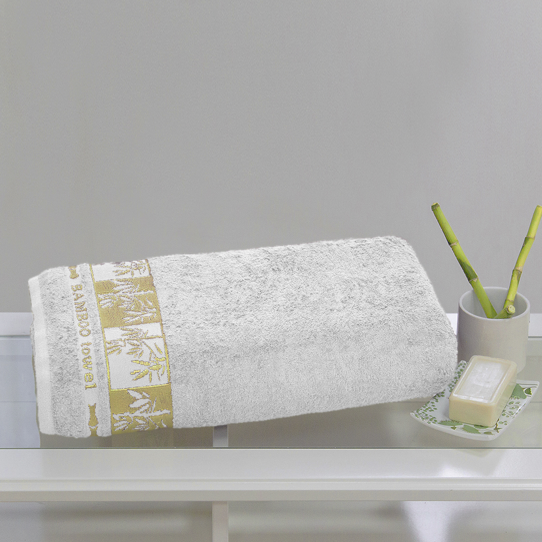 Полотенца Juanna Полотенце Meteor Цвет: Белый (70х140см) полотенце мах familon evidence велюровое 70х140см серое