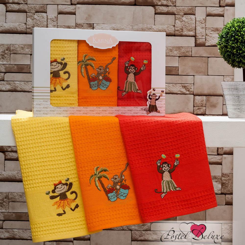 Кухонный набор Karna Karna Кухонный набор из 3 полотенец Manta V3 krn142734
