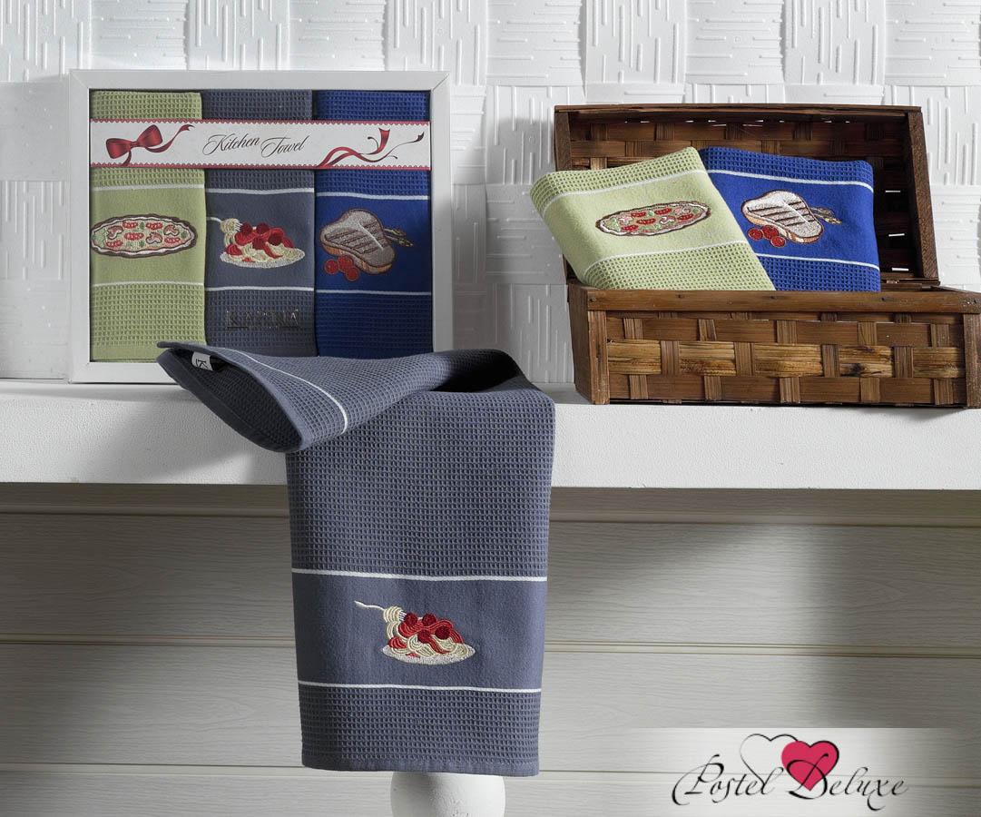 Кухонный набор Karna Karna Кухонный набор из 3 полотенец Stil Меню krn153636