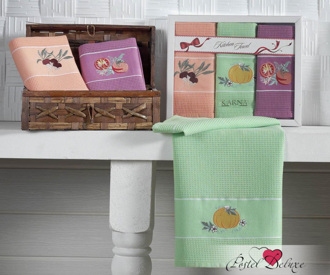Кухонный набор Karna Karna Кухонный набор из 3 полотенец Stil Овощной krn153637
