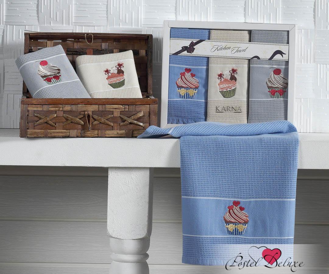 Кухонный набор Karna Karna Кухонный набор из 3 полотенец Stil Торт krn153639