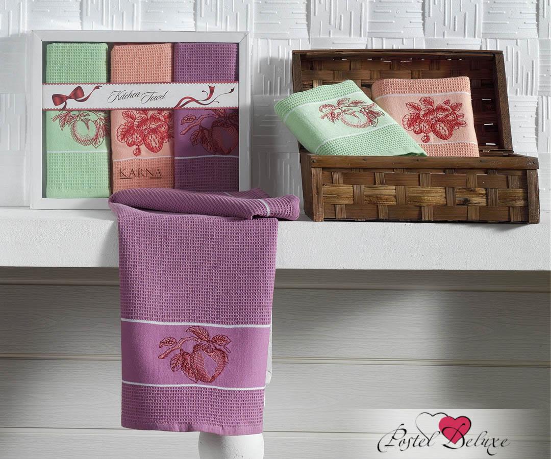 Кухонный набор Karna Karna Кухонный набор из 3 полотенец Stil Фрукты krn153640