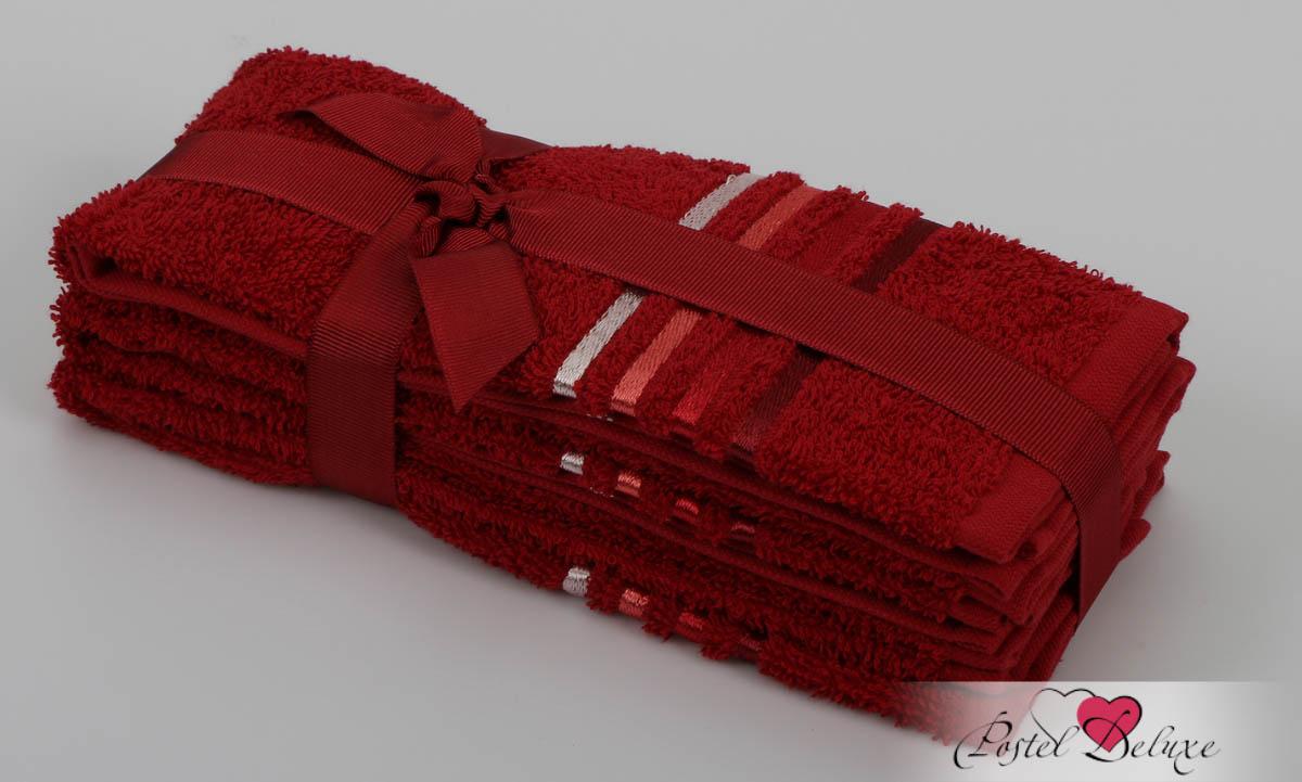 Полотенца Karna Полотенце Bale Цвет: Красный (30х50 см - 3 шт) karna karna bale 30 50 3