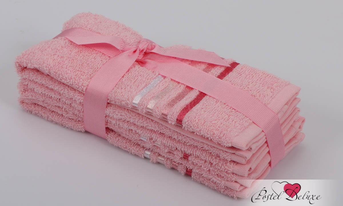 Полотенца Karna Полотенце Bale Цвет: Розовый (30х50 см - 3 шт) karna karna bale 30 50 3