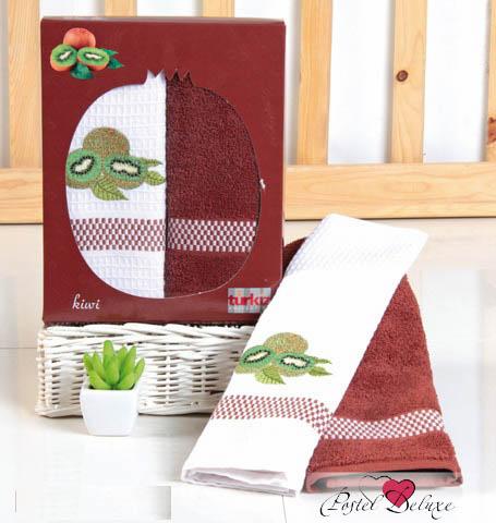 Кухонный набор Karna Karna Кухонный набор из 2 полотенец Frutte Цвет: Коричневый krn153735