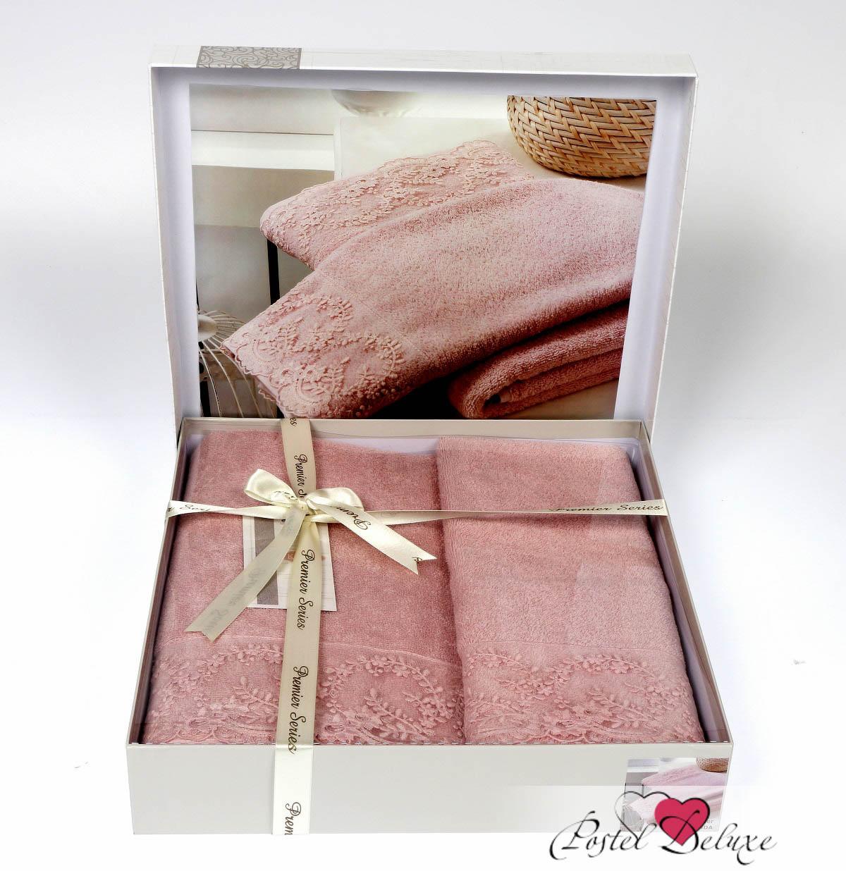 где купить  Полотенца Karna Полотенце Elinda Цвет: Абрикосовый (Набор)  по лучшей цене