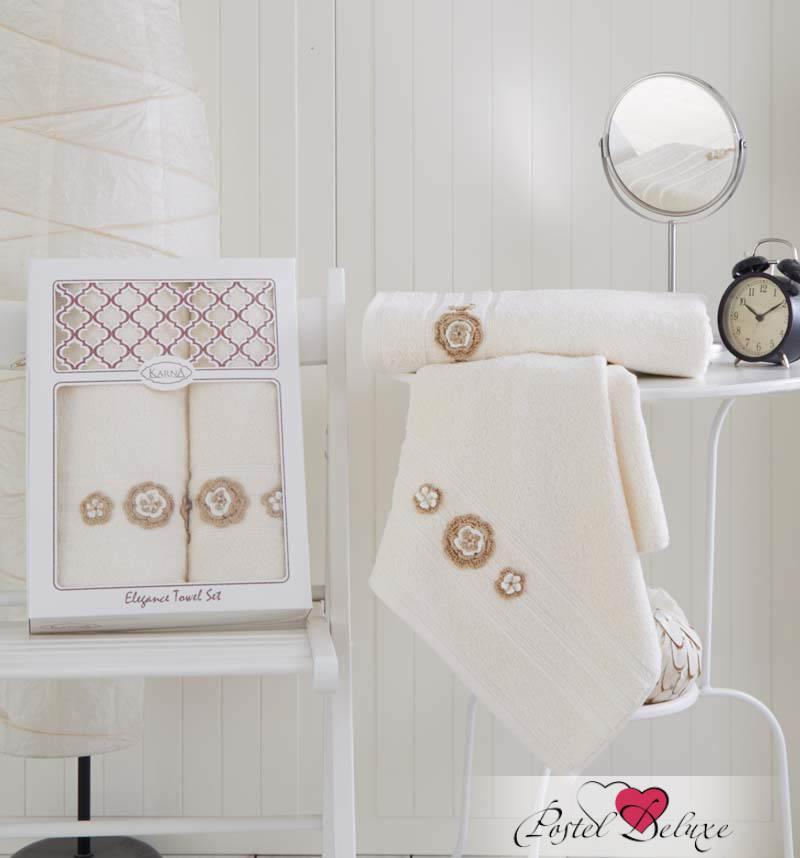Полотенца Karna Полотенце Elegance Цвет: Кремовый (Набор) футболка с полной запечаткой printio rushero arsb