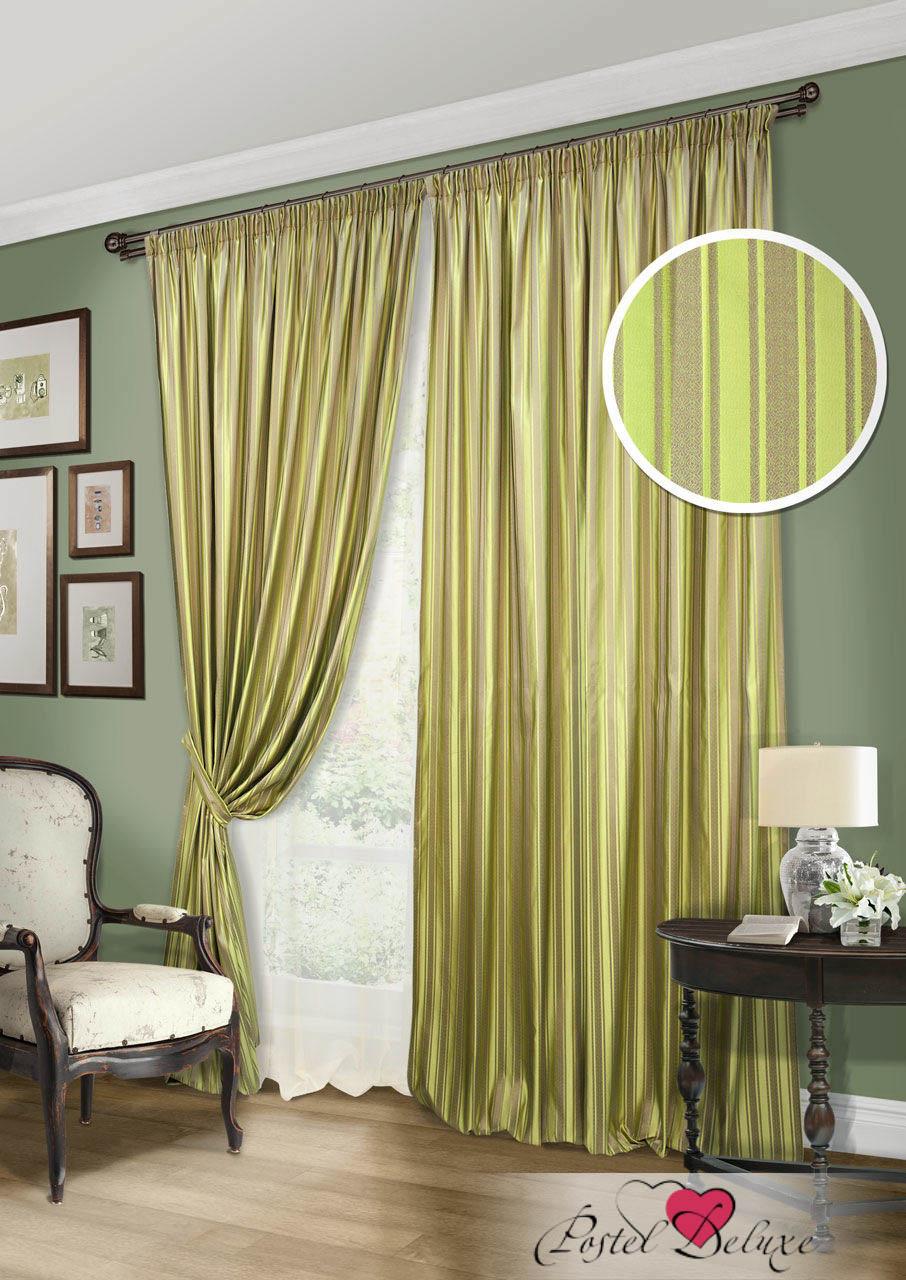 Шторы Kauffort Классические шторы Briksent-S Цвет: Зеленый шторы kauffort классические шторы barolo s