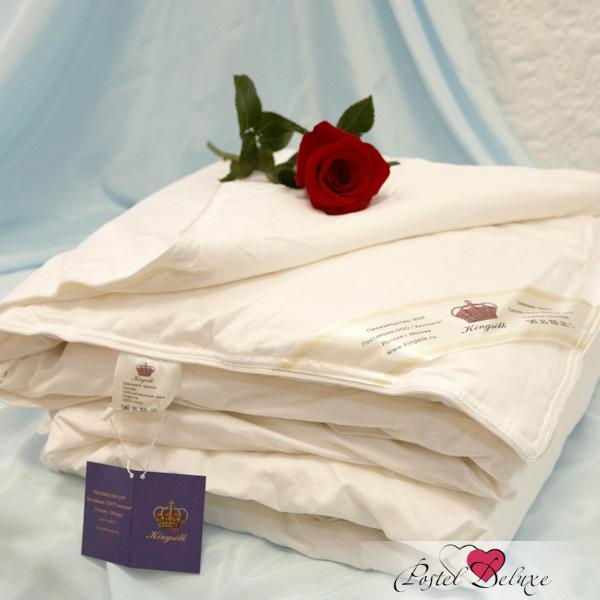 Все фото товара KingSilk KingSilk Одеяло Elisabette Classic Летнее. Цвет: Белый 200х220 см