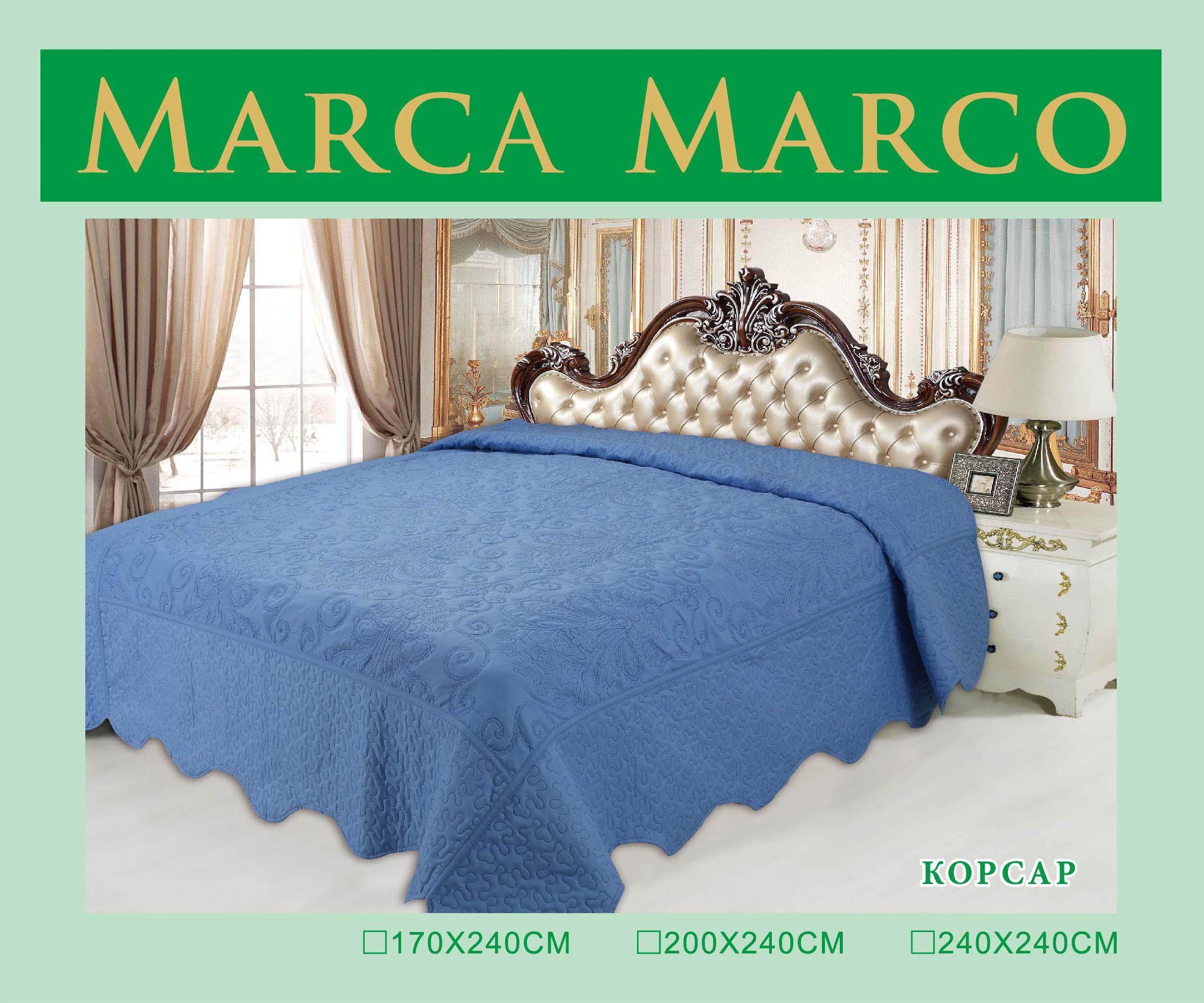 где купить  Покрывало MАRCA MARCO Покрывало Корсар (240х240 см)  по лучшей цене
