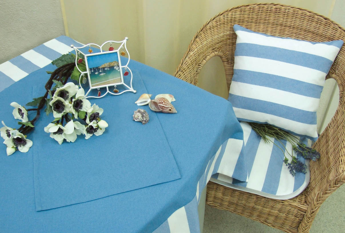Подушки на стул Kauffort Подушка на стул Krit Цвет: Голубой (40х40) подушка на стул адмирал цвет голубой синий 40 х 40 см