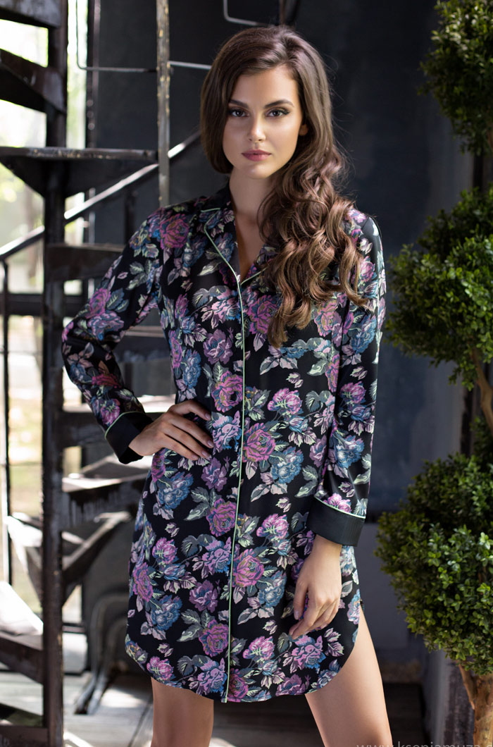 Ночные сорочки Mia-Mia Ночная сорочка Sharlotta (xL) сорочка рубашка mia mia luisa розовая xl