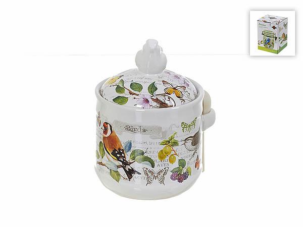 {} Polystar Банка для сыпучих Birds (11х16 см) банка для сыпучих продуктов polystar birds 600 мл