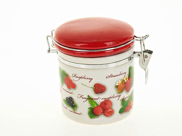{} Polystar Банка для сыпучих Садовая Ягода (10х12 см) polystar банка для сыпучих садовая ягода 10х15 см