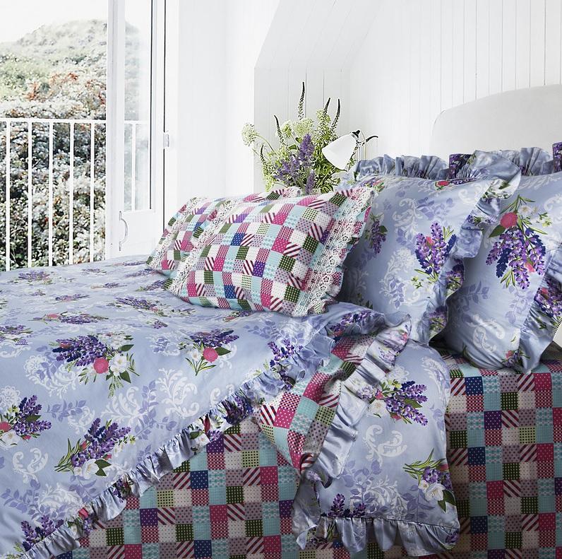 где купить Постельное белье Mona Liza Постельное белье Lavender (2 сп. евро) по лучшей цене