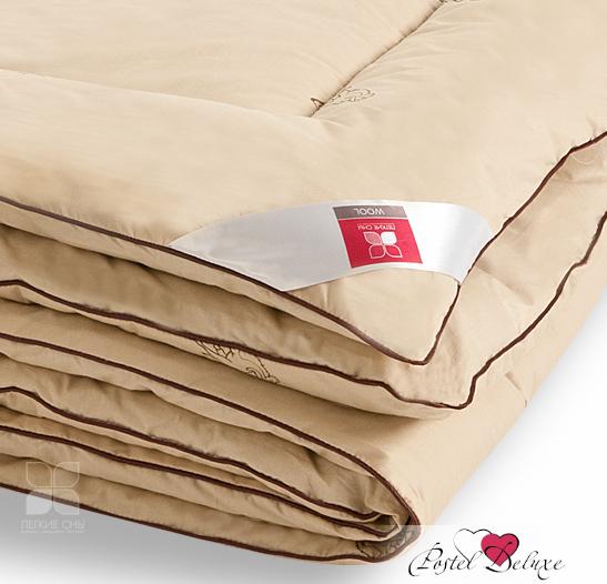 Одеяло Легкие сныОдеяла<br>Одеяло стёганое тёплое двуспальное (мал)<br>Размер: 172х205 см<br><br>Наполнитель: Верблюжья шерсть<br>Плотность наполнителя: 300 г/м2<br>Состав: Верблюжья шерсть, Полиэстер<br><br>Материал чехла: Хлопковый тик<br>Состав: 100% Хлопок<br>Отделка: Кант<br><br>Производитель: Легкие сны<br>Страна производства: Россия<br>Тип Упаковки: Чемодан ПВХ<br><br>Тип: одеяло<br>Размерность комплекта: 2-спальное<br>Материал: Хлопковый тик<br>Размер наволочки: None<br>Подарочная упаковка: None<br>Для детей: нет<br>Ткань: Хлопковый тик<br>Цвет: Бежевый