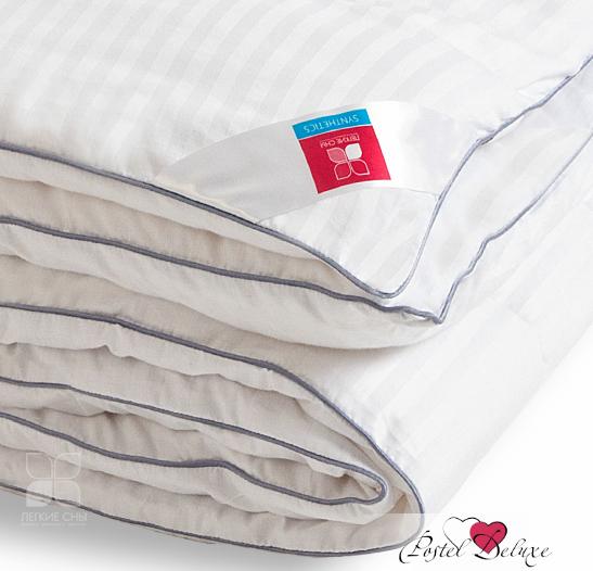Одеяло Легкие сныОдеяла<br>Одеяло стёганое тёплое двуспальное (евро)<br>Размер: 200х220 см<br><br>Наполнитель: Силиконизированное волокно (Лебяжий пух)<br>Плотность наполнителя: 300 г/м2<br>Состав: 100% Полиэфир<br><br>Материал чехла: Хлопковый сатин<br>Состав: 100% Хлопок<br>Отделка: Кант<br><br>Производитель: Легкие сны<br>Страна производства: Россия<br>Тип Упаковки: Чемодан ПВХ<br><br>Тип: одеяло<br>Размерность комплекта: евростандарт<br>Материал: Хлопковый сатин<br>Размер наволочки: None<br>Подарочная упаковка: None<br>Для детей: нет<br>Ткань: Хлопковый сатин<br>Цвет: Белый