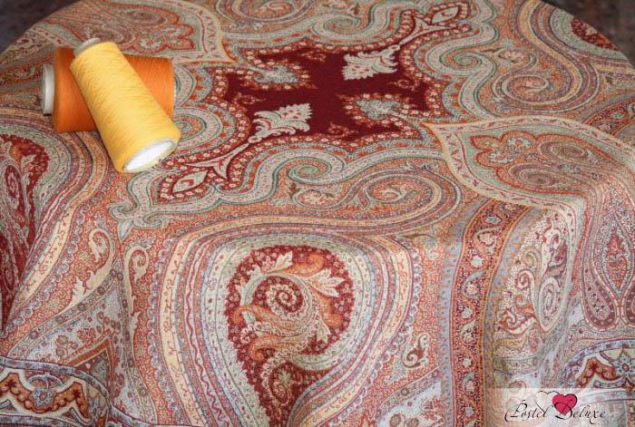 Скатерти и салфетки Lencera Скатерть Paisley Цвет: Терракотовый (160х310 см) скатерть ирма влагонепроницаемая цвет терракотовый