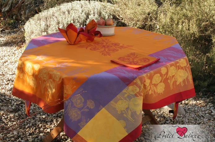 Скатерти и салфетки Lencera Скатерть Coquelicot Цвет: Оранжевый (160х200 см)