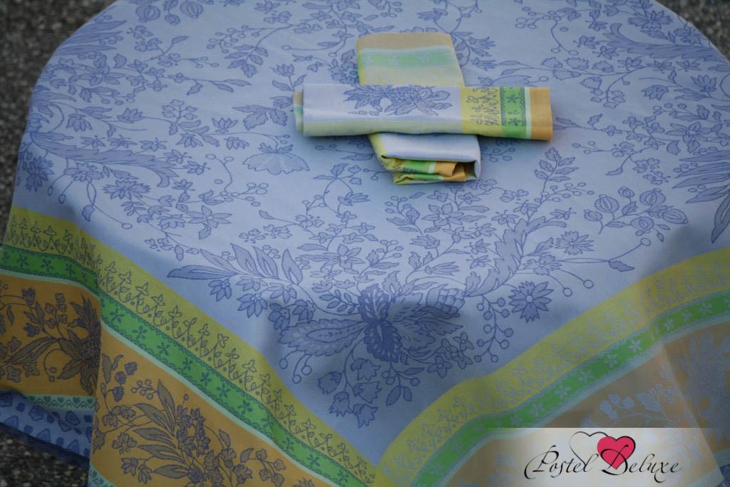 Скатерти и салфетки Lencera Скатерть Cotignac Цвет: Голубой (160х200 см)