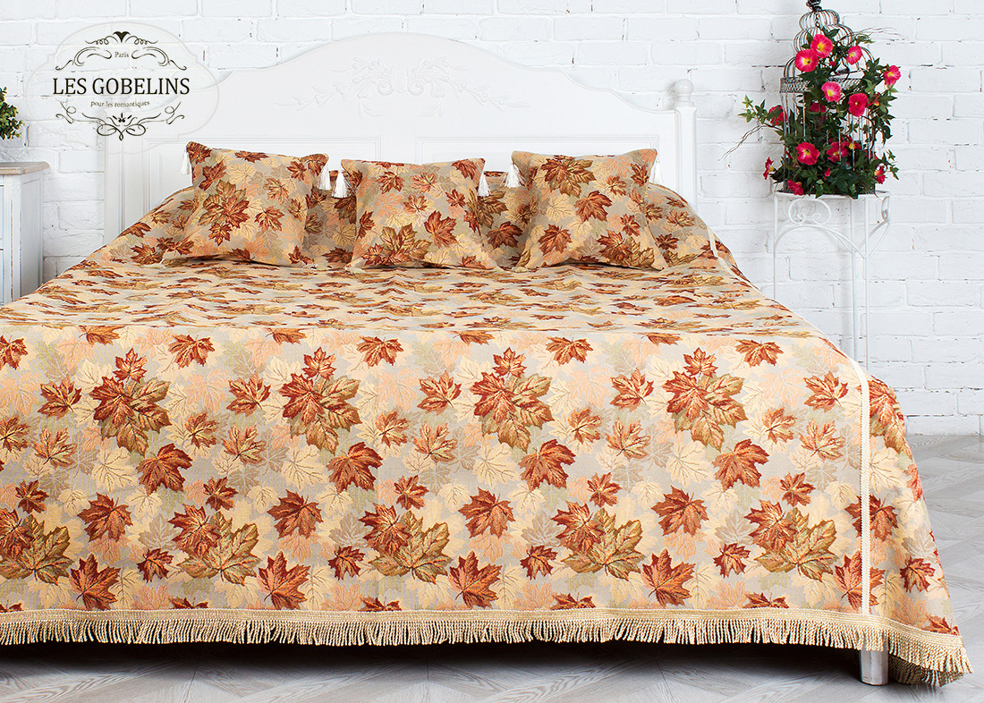 Покрывало Les Gobelins Покрывало на кровать Boston Waltz (190х230 см) les gobelins les gobelins покрывало на кровать nymphe 190х230 см