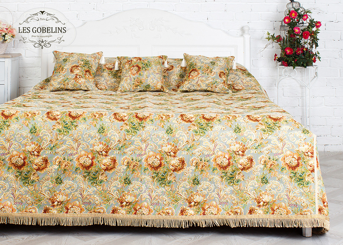 Покрывало Les Gobelins Покрывало на кровать Catherine (240х220 см)