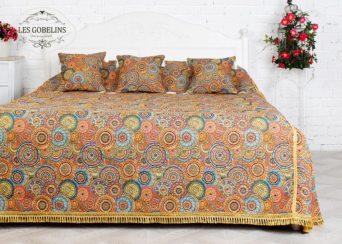 где купить  Покрывало Les Gobelins Покрывало на кровать Galaxie (230х230 см)  по лучшей цене