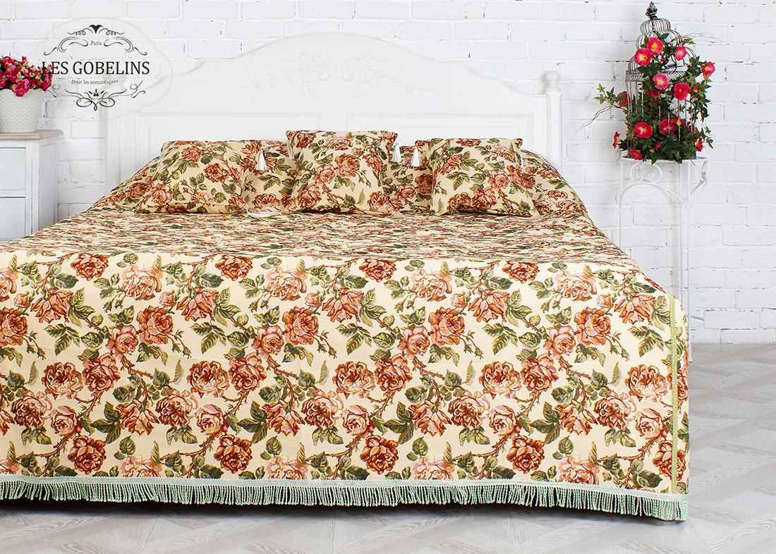 где купить  Покрывало Les Gobelins Покрывало на кровать Rose vintage (160х220 см)  по лучшей цене