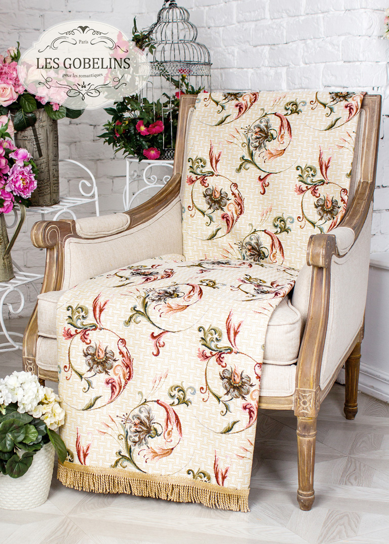 где купить  Покрывало Les Gobelins Накидка на кресло Anglais bell (90х160 см)  по лучшей цене