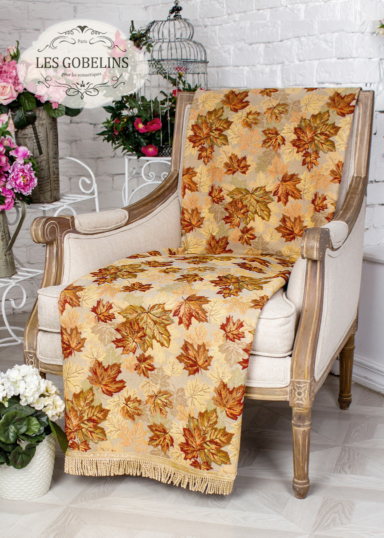 Покрывало Les Gobelins Накидка на кресло Boston Waltz (90х130 см)
