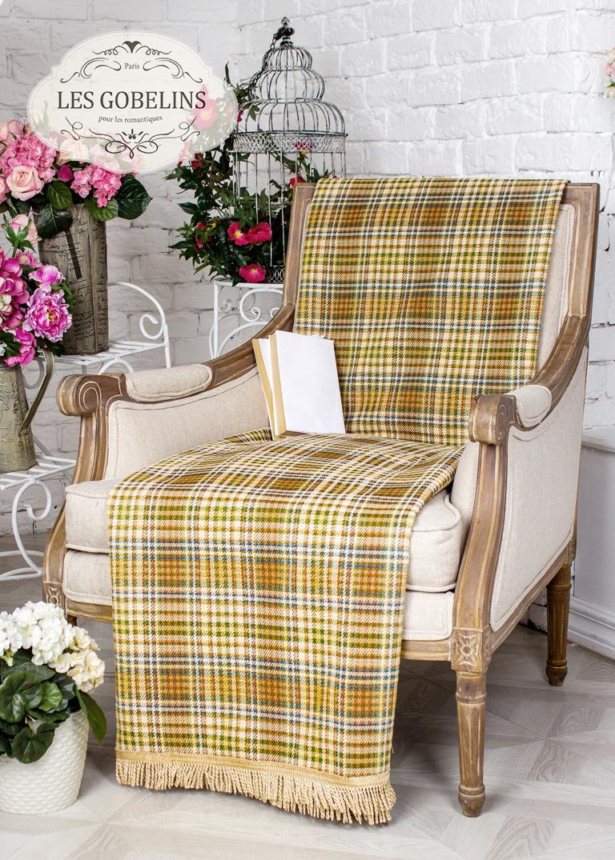 где купить  Покрывало Les Gobelins Накидка на кресло Cellule vindzonskaya (80х140 см)  по лучшей цене
