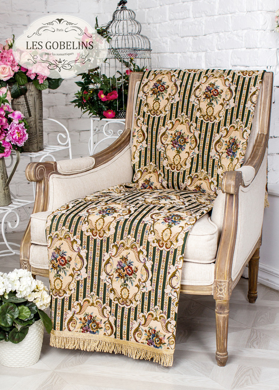 где купить  Покрывало Les Gobelins Накидка на кресло 12 Chaises (50х180 см)  по лучшей цене
