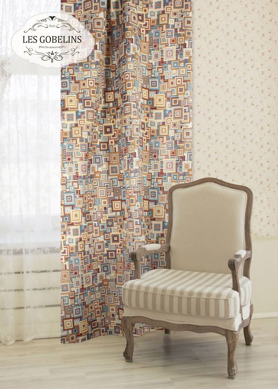 Классические шторы Collage geometrique Les Gobelins