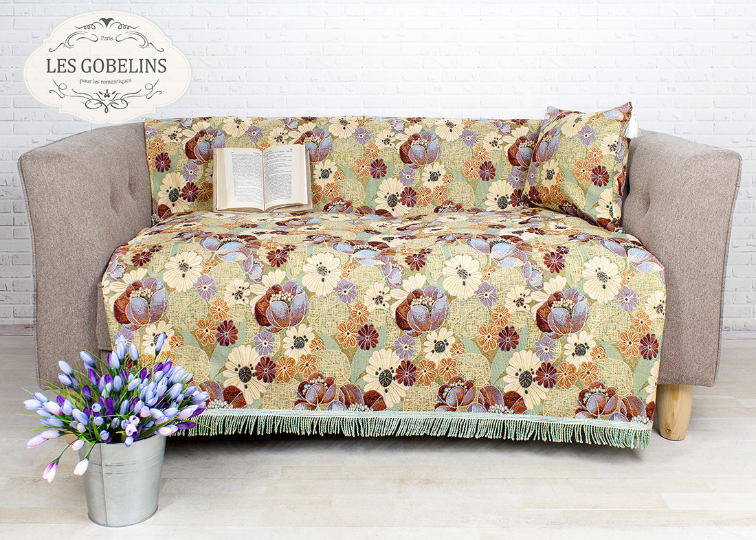 Покрывало Les Gobelins Накидка на диван Fantaisie (150х170 см)